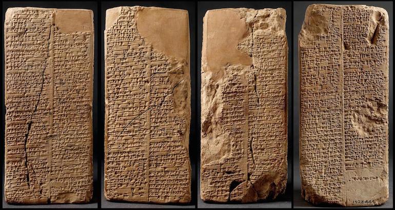 The earliest written history ofGods